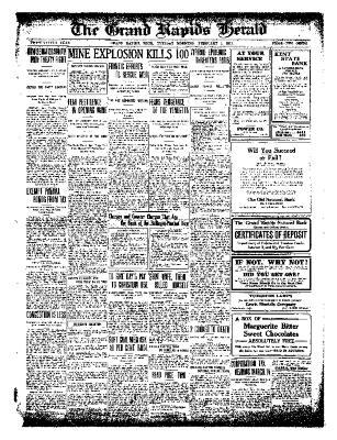 Grand Rapids Herald, Tuesday, February 01, 1910
