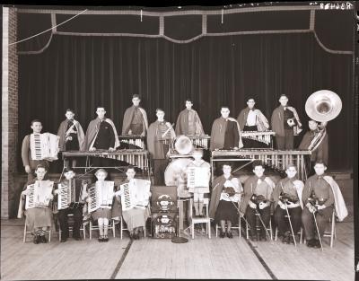 Accordion and Marimba Band