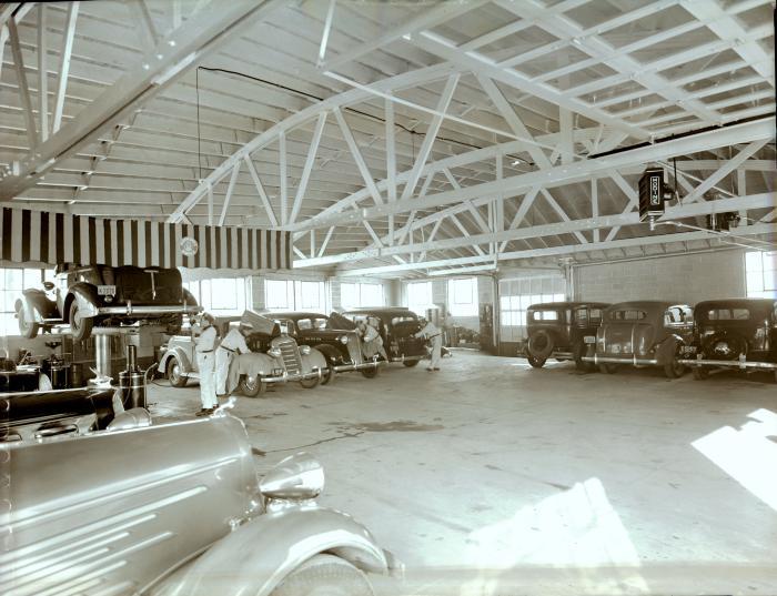 Oldsmobile Dealership Garage