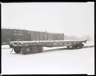 Railroad Flat Car