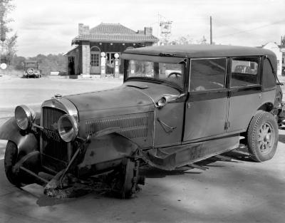 Damaged Automobile