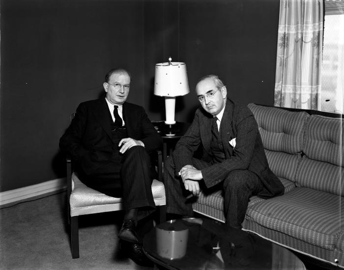 Senators Wheeler and Vandenberg