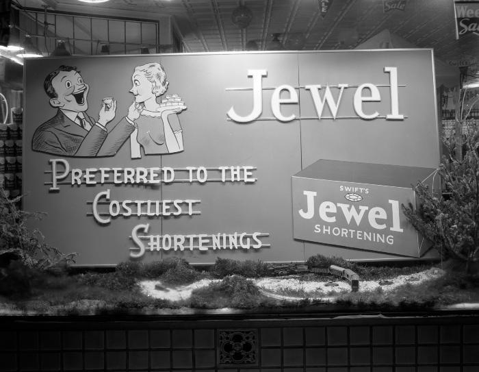 Jewel Shortening Window Display
