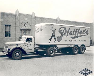 West Side Beer truck