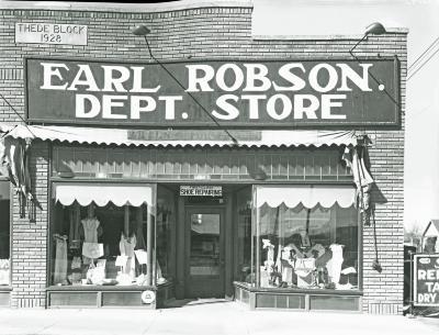 Earl Robson Departement Store