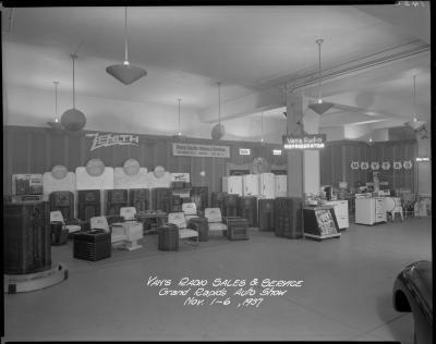 J. A. White Distributors booth