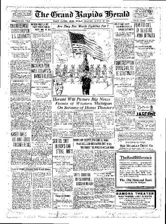 Grand Rapids Herald, Friday, August 10, 1917