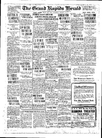 Grand Rapids Herald, Tuesday, August 7, 1917