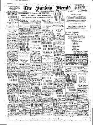 Grand Rapids Herald, Sunday, July 29, 1917