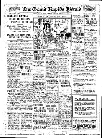 Grand Rapids Herald, Tuesday, August 21, 1917