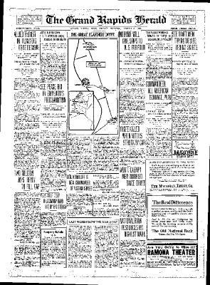 Grand Rapids Herald, Friday, August 3, 1917