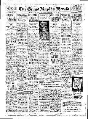 Grand Rapids Herald, Wednesday, July 25, 1917