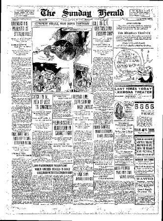 Grand Rapids Herald, Sunday, August 12, 1917