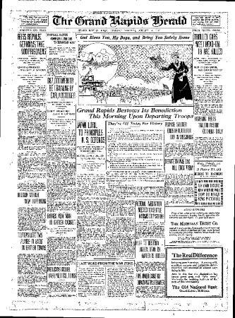 Grand Rapids Herald, Tuesday, August 14, 1917