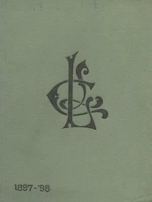 Ladies Literary Club Yearbook 1897-98