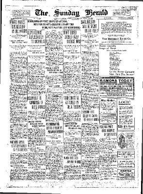 Grand Rapids Herald, Sunday, July 22, 1917