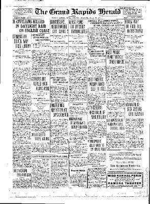 Grand Rapids Herald, Monday, July 23, 1917
