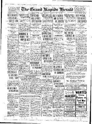 Grand Rapids Herald, Saturday, July 28, 1917