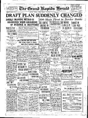 Grand Rapids Herald, Friday, July 20, 1917