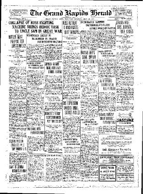 Grand Rapids Herald, Thursday, July 26, 1917