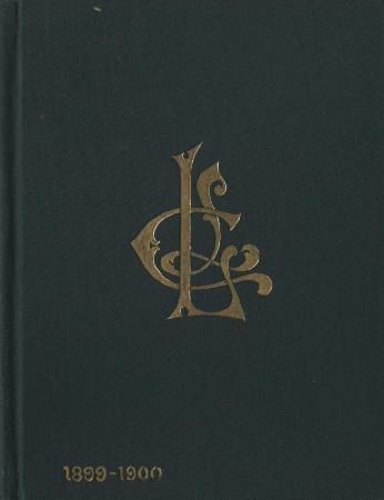 Ladies Literary Club Yearbook 1899-1900