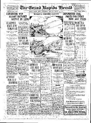 Grand Rapids Herald, Wednesday, August 22, 1917