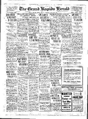 Grand Rapids Herald, Friday, July 27, 1917