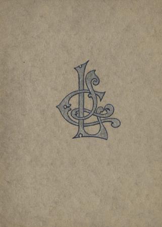 Ladies Literary Club Yearbook 1915-16