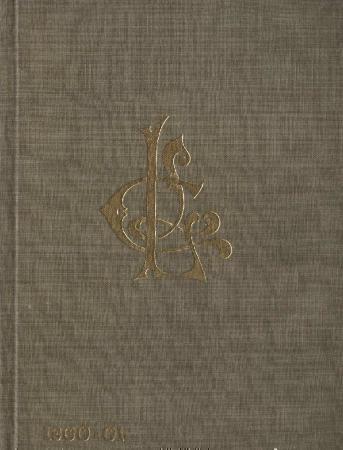 Ladies Literary Club Yearbook 1900-01