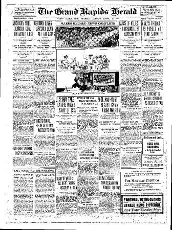 Grand Rapids Herald, Thursday, August 16, 1917