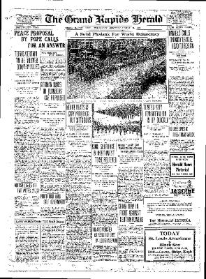Grand Rapids Herald, Wednesday, August 15, 1917