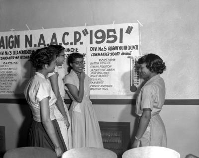 NAACP Winners, membership campaign