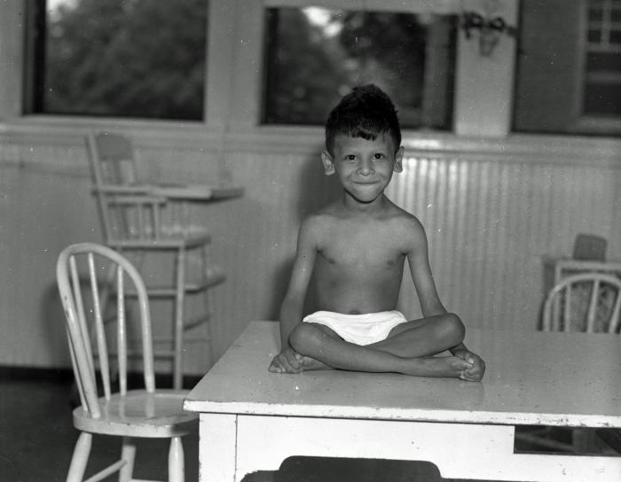 Indian Children at Blodgett Home