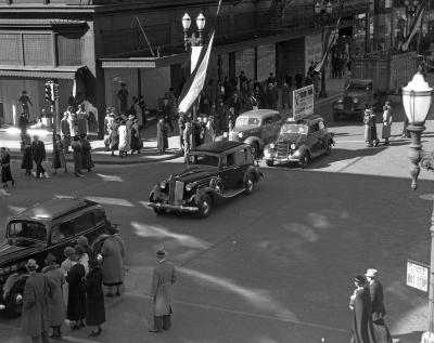 Regent Theater (Swing Time) parade