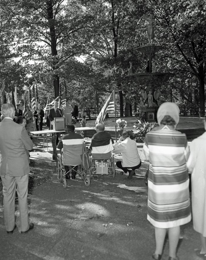 Michigan Veteran's Facility Fountain Dedication