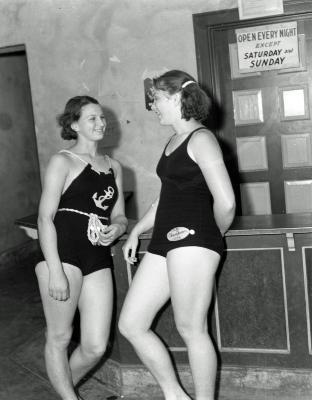 Swimming meet at Richmond Park