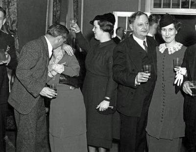 Newspaper Party at Pantlind Hotel