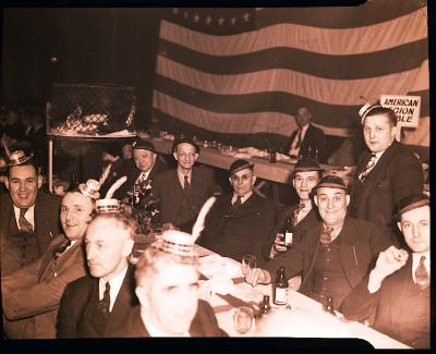 Elks Club, annual party of all nations