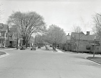 Lake Michigan Drive at Straight Avenue NW