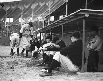 Baseball, New York Yankees [vs. Western State] at Bigelow