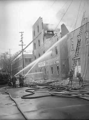 Columbia Storage Company, fire