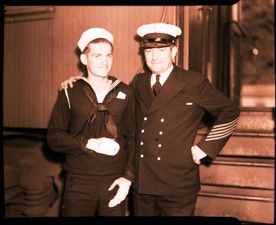 Naval Reserves, man who nearly drowned