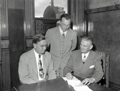 Republican Meeting in Judge Souter's Court