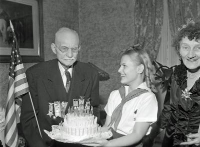 Warner, 99th birthday