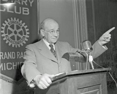 Rotary Club, speaker