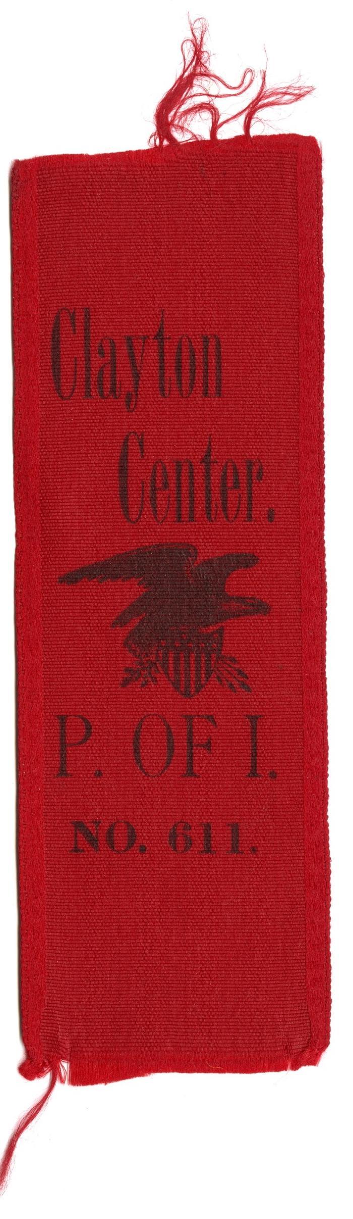 Clayton Center ribbon