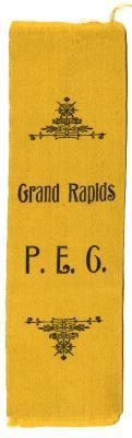 Grand Rapids P.E.G. ribbon