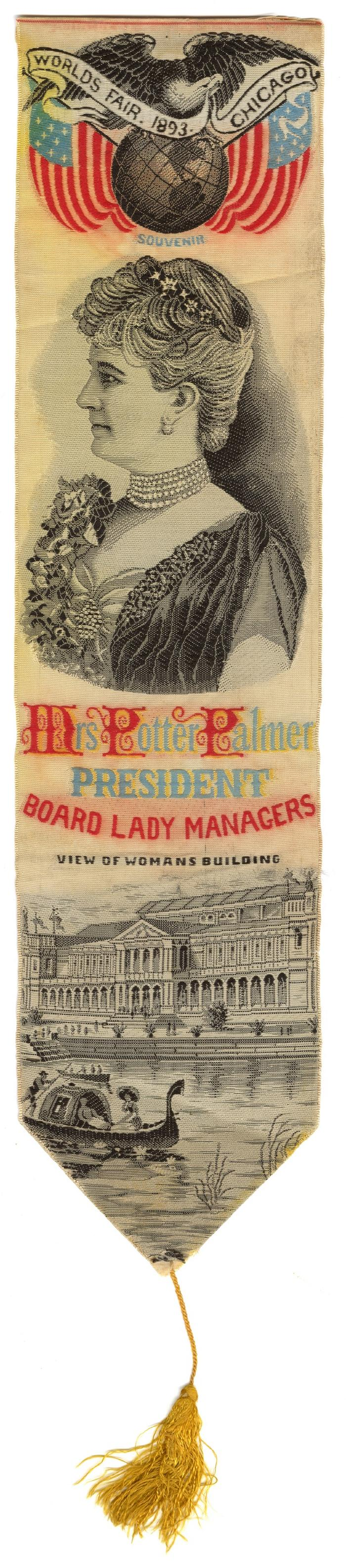 1893 Colombian Exposition, Board of Lady Managers ribbon
