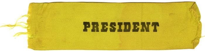 President ribbon