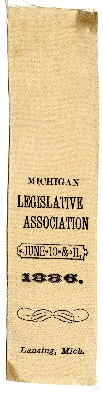 Michigan Legislative Association ribbon